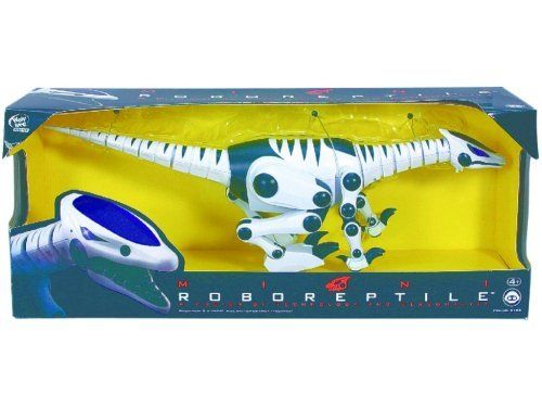 WowWee Mini Roboreptile - 8165 by WowWee. $25.99. Requires 2 AAA size Batteries (Not Included). The ultra fierce Mini Roboreptile walks on four legs making him perfectly designed for speed and hunting.. For age 4 and up. A Fusion of Technology and Personality Mini Roboreptile