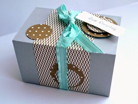 Schnecke's Kreativ-Laden: Geschenkverpackung mal 2