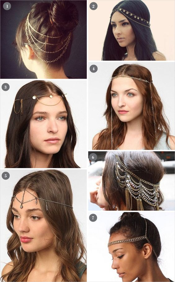 Would You Wear: A Head Chain Crown?
