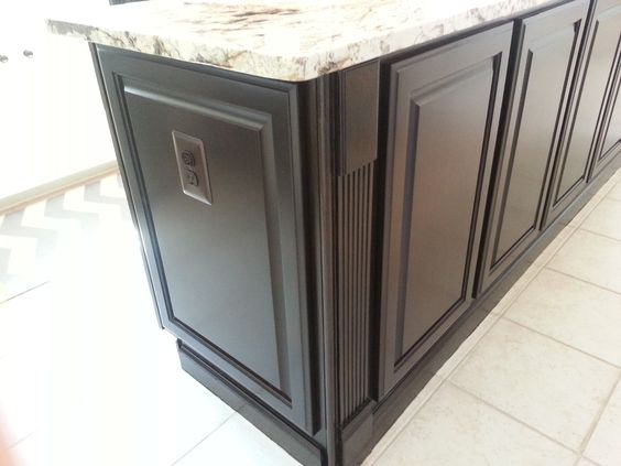 From builders grade golden oak cabinets to a kitchen with - Builder grade oak kitchen cabinets ...