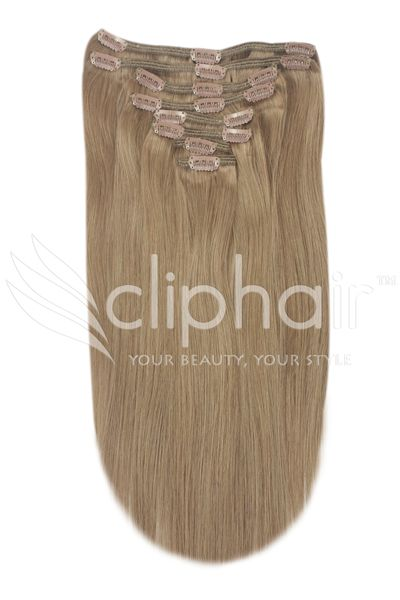 Medium Ash Brown| Clip in Full Head set| Also available in double weft volume, perfect for adding extra volume or length to your natural hair| 100% Human hair| free world wide shipping |next day delivery in UK & USA free color match service Shop now at cliphair.co.uk #clipinhair #ashbrown #haircolor #hairextensions #cliphairlimited #hairstyle 'hair #extensions
