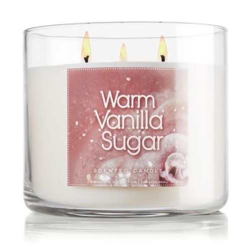 Warm Vanilla Sugar scented Tealights