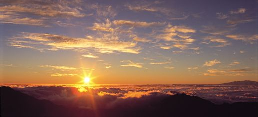 on Maui - Haleakala sunrise (if we get up early enough this time around...)
