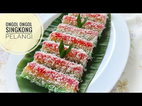 Ongol Ongol Singkong Pelangi Lembut Dan Enak Kue Tradisional Bahan Singkong Parut Youtube Kue Lezat Kue Pelangi