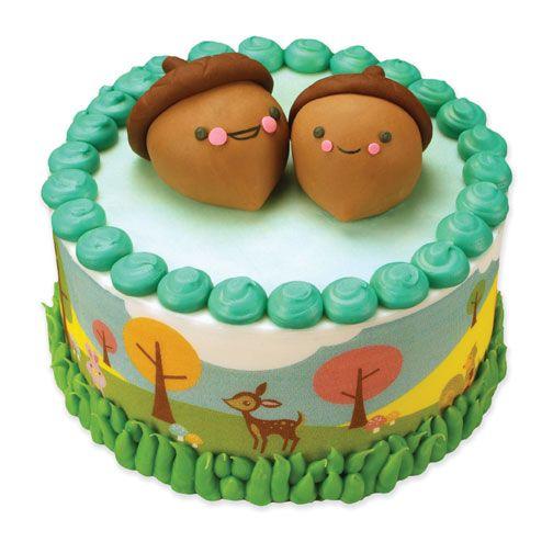 Acorn Buddies Cake