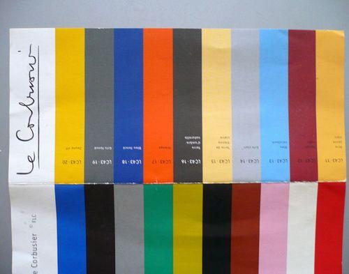 le corbusier color palettes Google Search colour