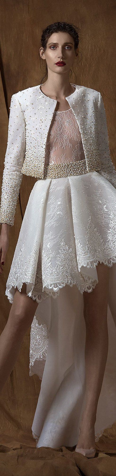 COUTURE SAIID KOBEISY SPRING-SUMMER 2016: