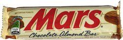 MARS CHOCOLATE ALMOND BAR 24 COUNT single bars: http://www.amazon.com/MARS-CHOCOLATE-ALMOND-COUNT-single/dp/B004FO9C06/?tag=httpbetteraff-20