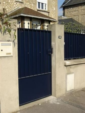 Portillon acier sur mesure portillon pinterest articles - Portillon sur mesure ...
