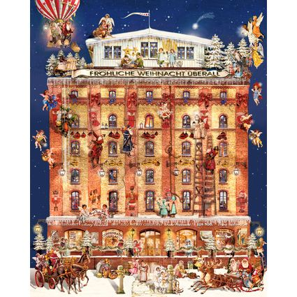 Ein Haus im Weihnachtstraum, Adventskalender