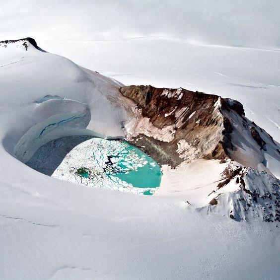 Mt. Douglas Caldera, Alaska