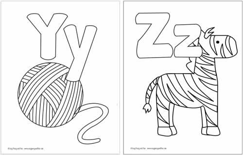 Free Printable Alphabet Coloring Pages Easy Peasy And Fun Alphabet Printables Kindergarten Coloring Pages Abc Coloring