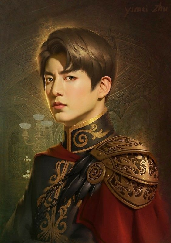 Prince Kai from the Lunar Chronicles