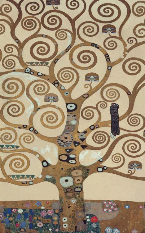 Klimt - El árbol de la vida