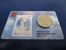Coincard Vaticano 2011 n.1 con francobollo Giovanni Paolo II