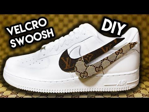 YouTube | Sneakers nike, Velcro roll, Diy clothes