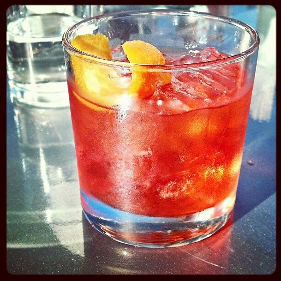 An Old Fashion @ Garage Bar.
