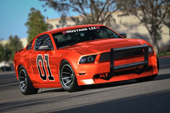 A Ford Mustang General Lee