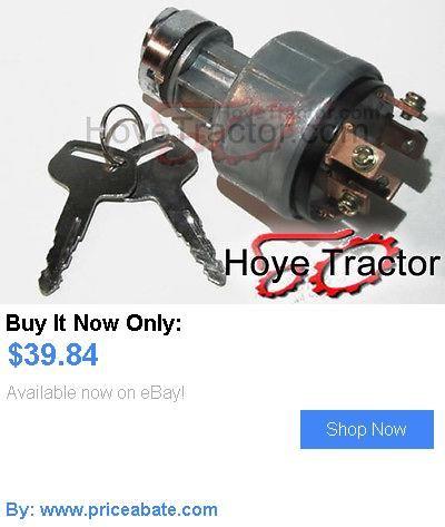 heavy equipment: Iseki Tractor Ignition Switch - Also Kubota BUY IT NOW ONLY: $39.84 #priceabateheavyequipment OR #priceabate