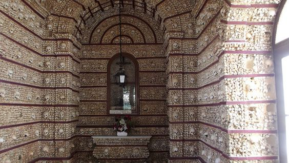 Capela dos Ossos (Chapel of Bones) in Faro, Portugal - May 2012, via Flickr.