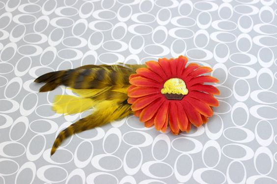 Take A Bite Hair Clip by earthcharms on Etsy (Accessories, Hair, Clip, earthcharms, socoetsy, hair clip, cupcake, brown, yellow, orange, flower, feather, turkey, daisy)