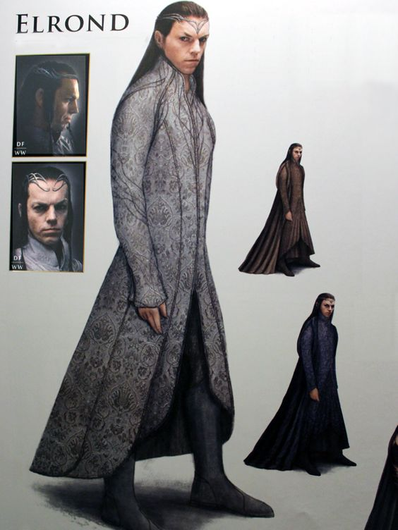 Lord Elrond costumes / The Hobbit (Jackson 2012-14):