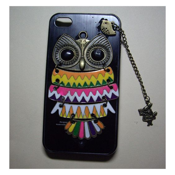owl,alice rabbit,bird,Iphone Case iPhone 4 Case, iphone 4 cover, New Hard Fitted Case For iphone 4 & iphone 4S, Apple iPhone 4 Case found on Polyvore