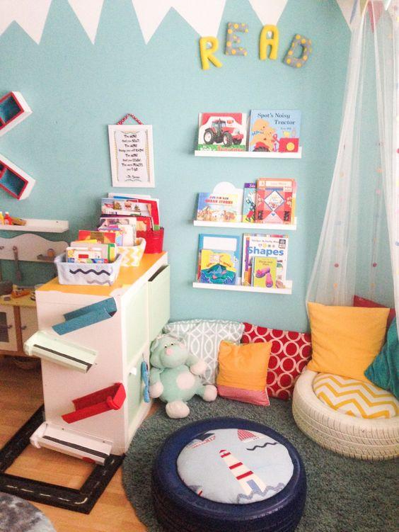 C mo crear espacios de lectura para ni os en el aula o en for Tende sala on line