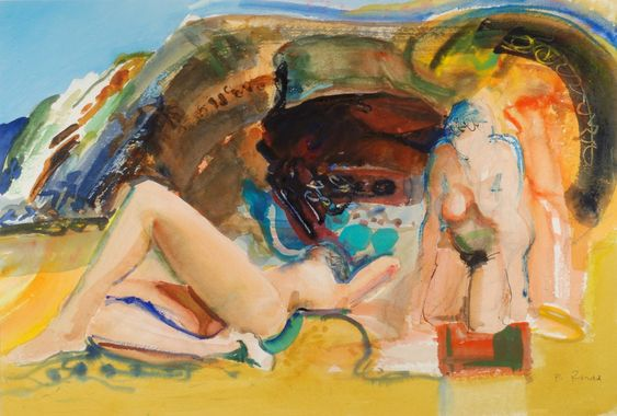 Bathers  Bob Rudd:
