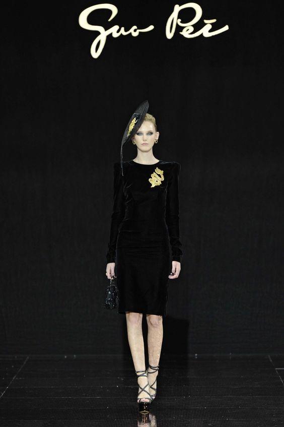 Guo Pei Fall 2016 Haute Couture Collection | Style.com/Arabia
