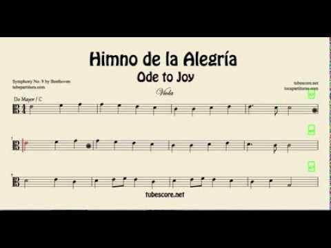El Himno De La Alegria Oda A La Alegria De Beethoven Partitura De La Novena Sinfonia Partitura Para Saxofon En Sol Mayor Partitu In 2021 Ode To Joy Sheet Music Joy
