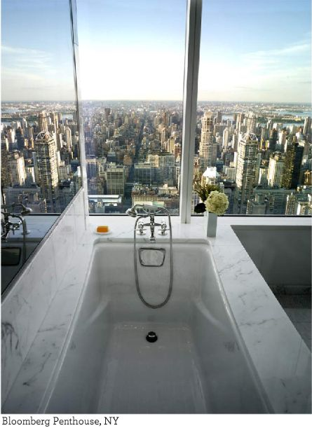 Penthouse in NYC  Imagine waking up seeing that view when going to the bathroom. Penthouse in NYC  Imagine waking up seeing that view when going to