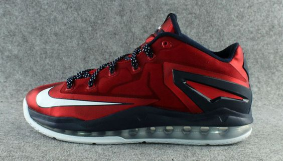 Nike LeBron XI 11 Low Independence Day 642849-614 (1)