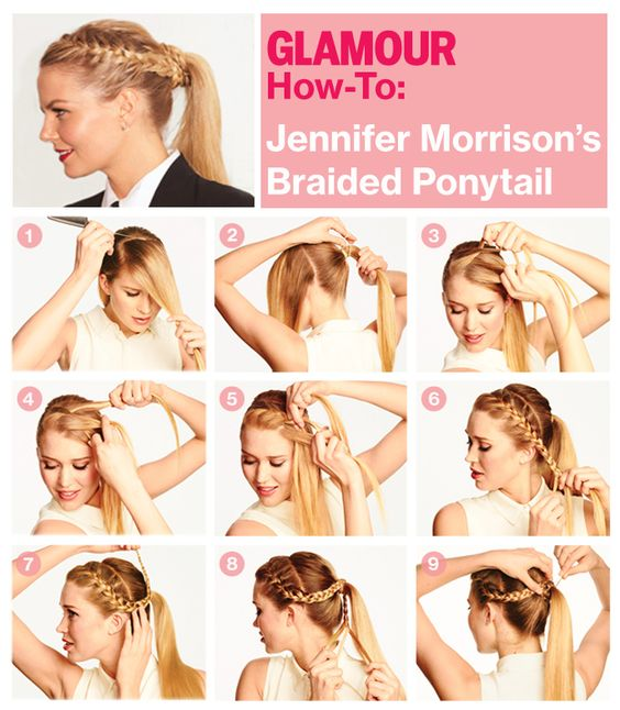 Exactly how to get Jennifer Morrison's cool braided 'do