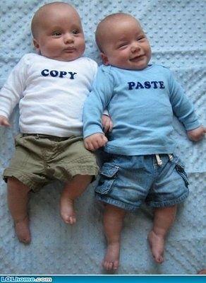 Copy. Paste.