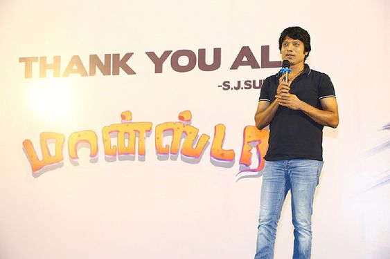Actor S J Surya Thanks Giving Meet