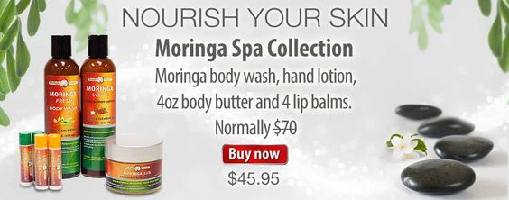 Moringa Spa Collection Special- take advantage $45.95