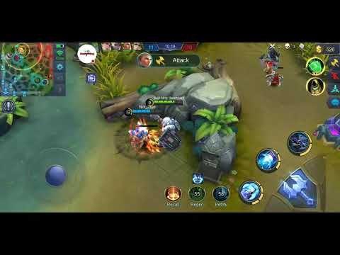 Johnson Hero Mobile Legends Live Stream Gamerking Youtube Mobile Legends Legend Mobile Legends Legend