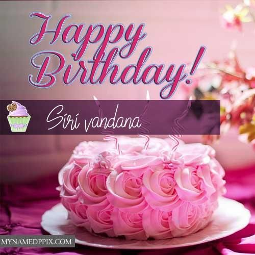 Pleasant New Happy Birthday Cake Greeting Card Name Write Pictures With Funny Birthday Cards Online Sheoxdamsfinfo