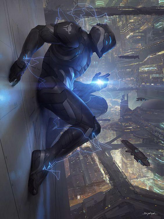 Galaxy Saga: Berserker of Destruction - by Geoffroy Thoorens