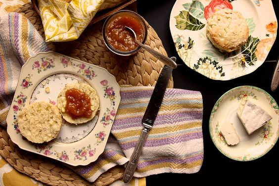 Sweet Corn Biscuits by joy the baker, via Flickr