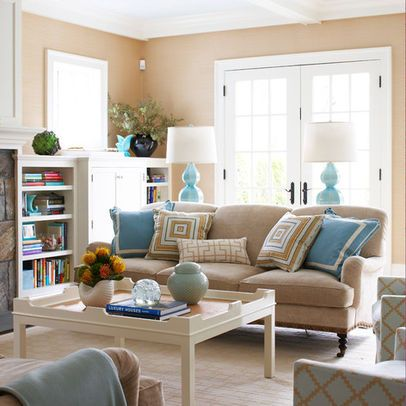 Pictures casual living rooms and design on pinterest for Casual family room decorating ideas