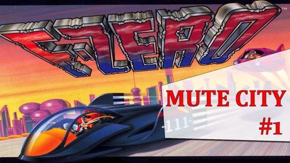 F-ZERO Level#1 Mute City|NintendoLandia|Old Fashion Gamer|Gameplay HD