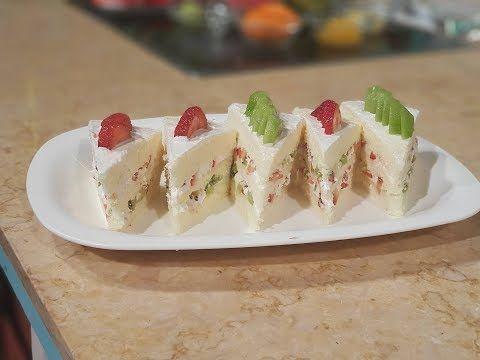 طريقه عمل الجاتوه السريع والكيكه الاسفنجيه من الشيف محمد حامد فى برنامج المطعم Youtube Tart Recipes Recipes Desserts