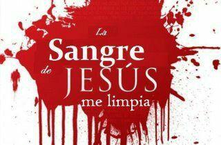 La sangre de Jesus me limpia