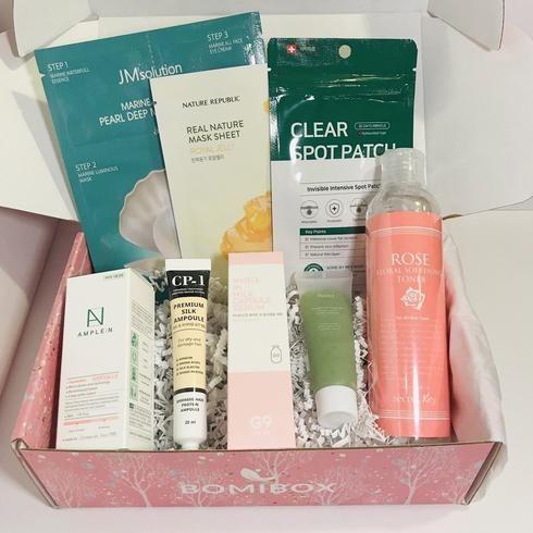 Past Boxes Bomibox Korean Beauty Box Korean Skincare Products Subscription Beauty Box Simple Skincare Skin Care