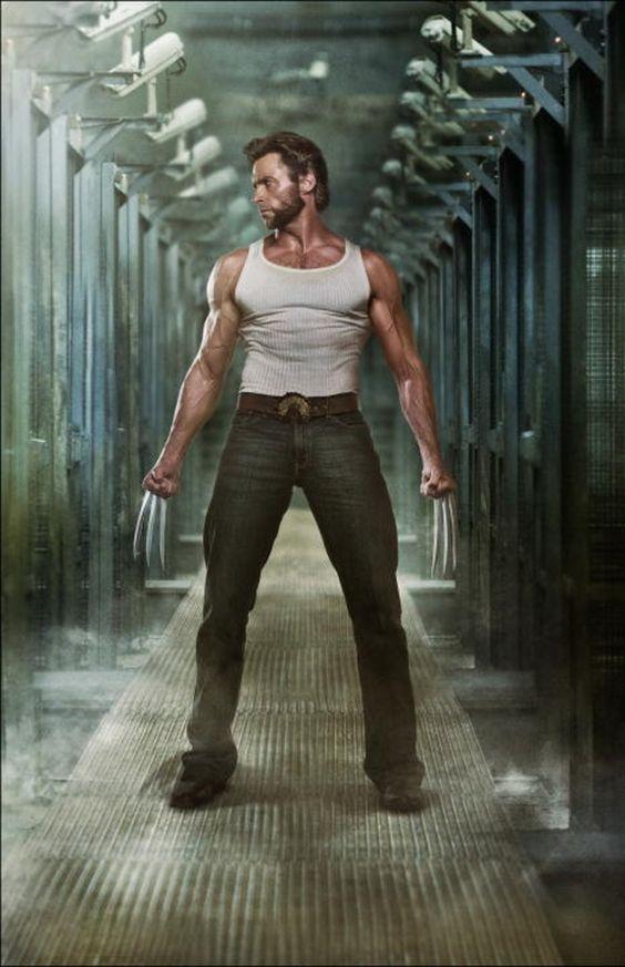 Hugh Jackman as Wolverine... sighhh <3