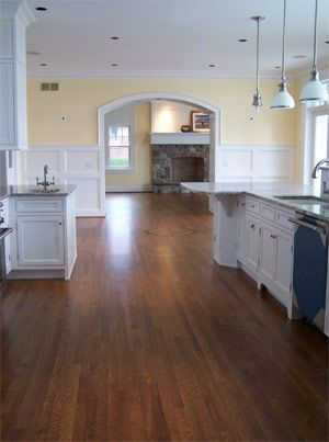 Provincial Stain On White Oak Hardwood Floors