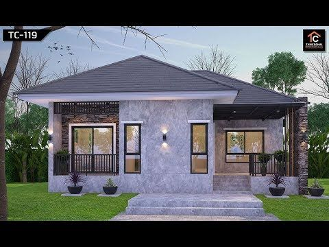 18 Small But Beautiful House With Plans You Can Copy Youtube Beautiful Houses Exterior Countryside House Model House Plan