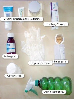 Home Derma-rolling Guide - Tips, information and blog from a REAL user: How to roll - A complete guide